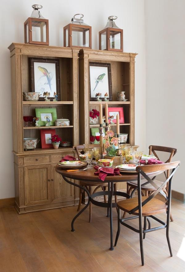 Para ser confortável, a mesa redonda deve ter no mínimo 1,20 metro.