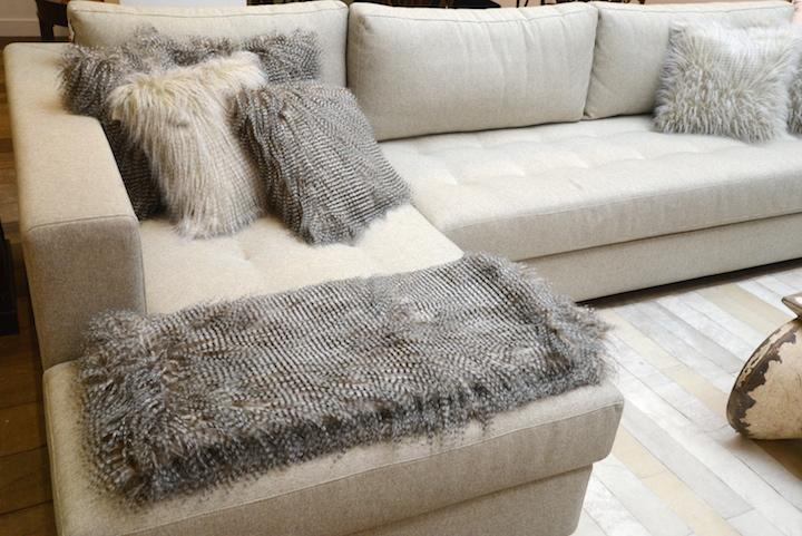Tempo de mantas room for Manta no sofa como usar
