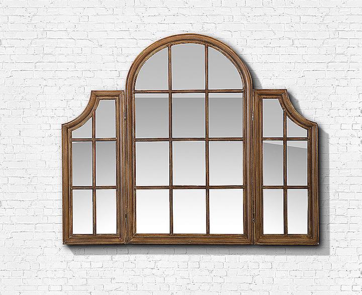 Um modelo como o Queen, de 1,80 x 1,50 m, com moldura de janela articulada, preenche a parede trazendo luminosidade.