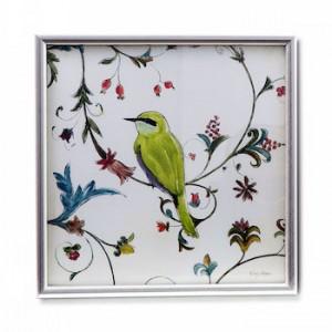 Quadro passarinho verde