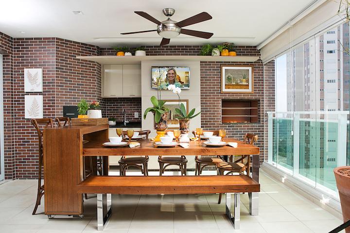 Aparador Area Gourmet ~ Antes de depois de uma varanda gourmet Cecilia Dale