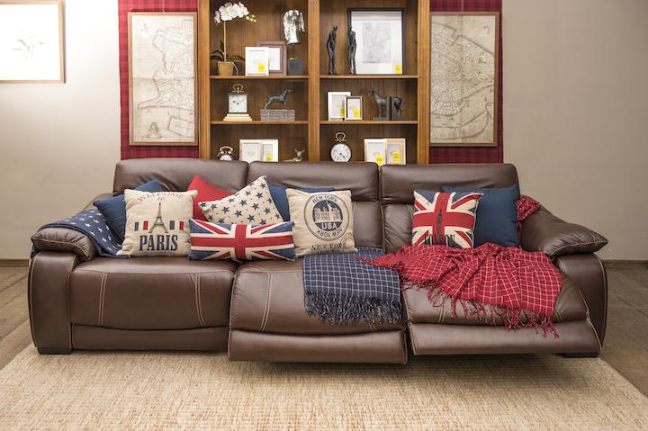 A era do conforto: sofá reclinável com tecnologia Touch!
