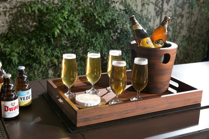 Jogo de taças de cerveja bohemia em cristal ecologico Cecilia Dale