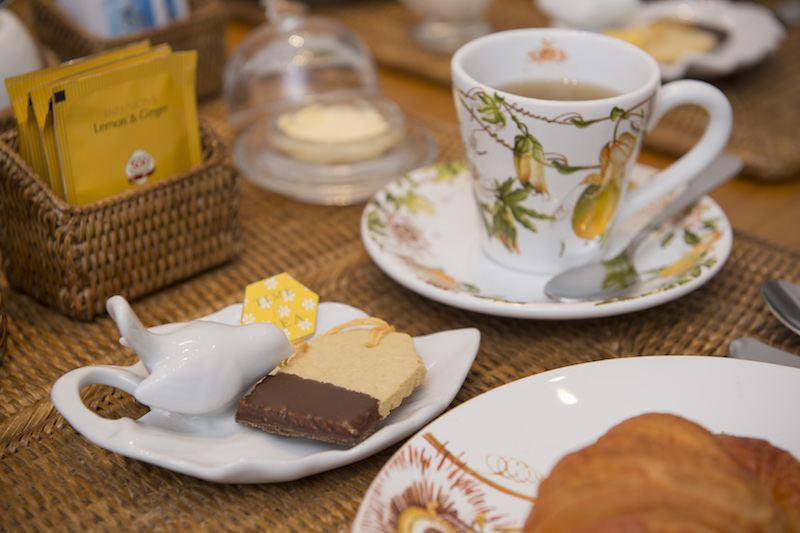 Biscoitos amanteigados perfeitos para a hora do chá. Com receita !