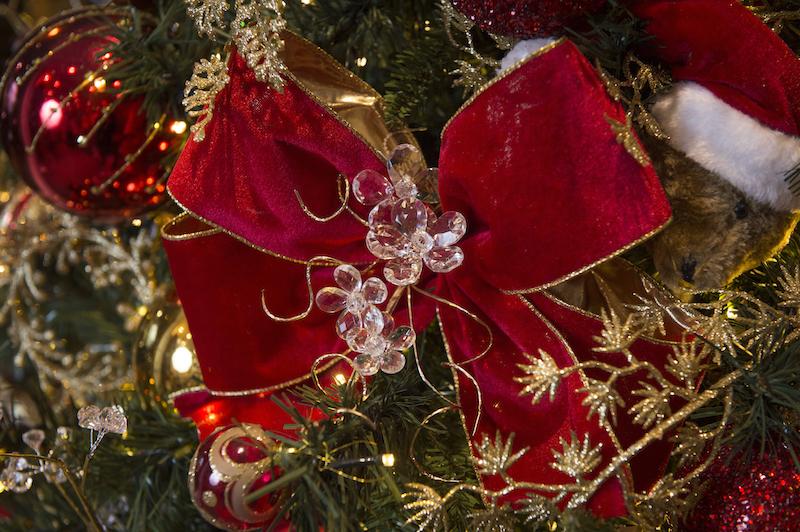 laço da Coleção de Natal Classic