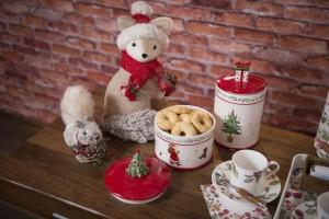 Ceia de Natal com mesa linda e farta!