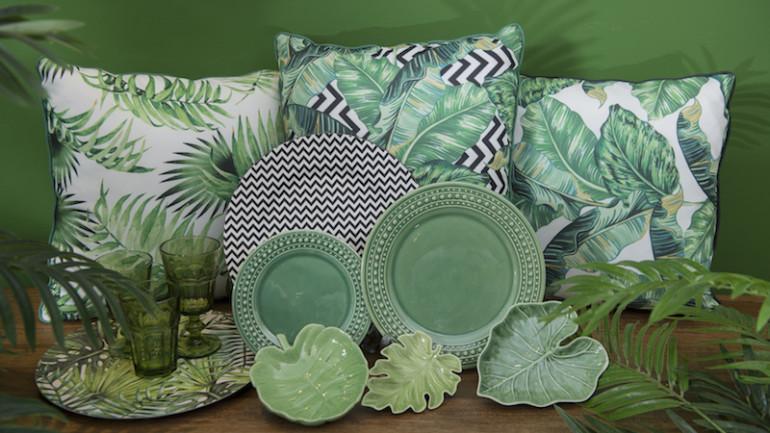 Green Decor: estilo contemporâneo em verde, preto e branco