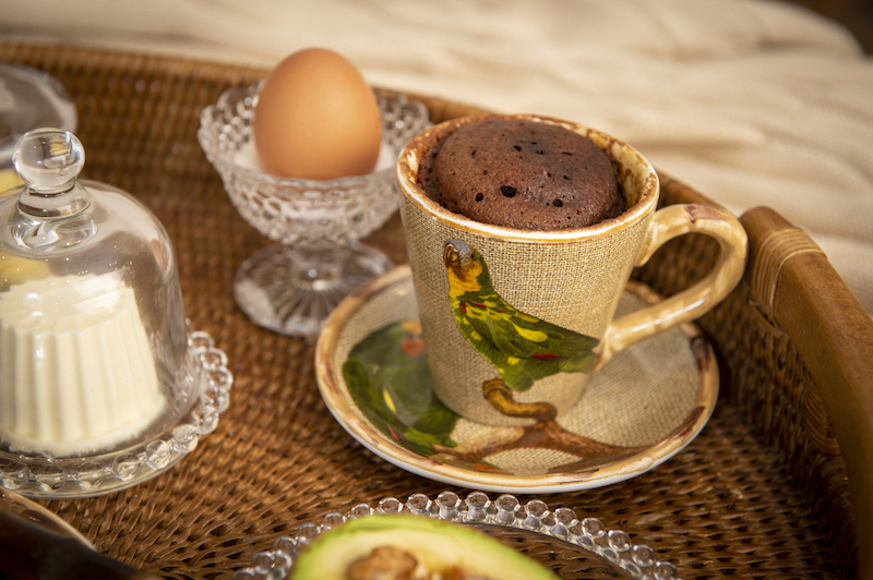 Café da manhã na cama - Xícara de chã linha Itacaré Cecilia Dale
