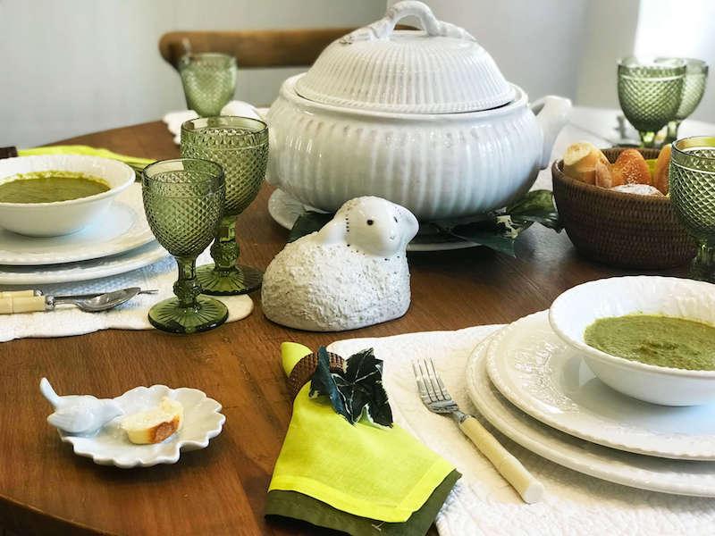 Ovelha em cerâmica - Cecilia Dale