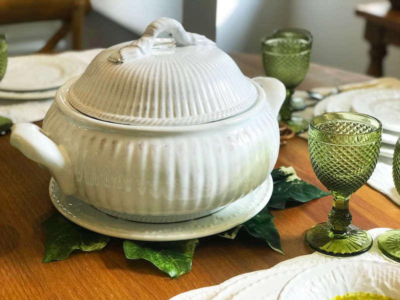 Sopeira em cerâmica com tampa - Cecilia Dale