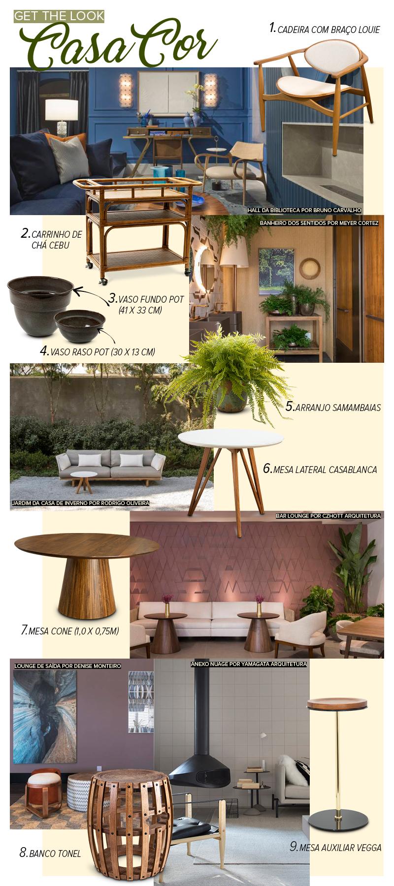 Get the look Casa Cor com móveis e objetos Cecilia Dale
